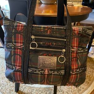 Authentic Coach pre owned tote